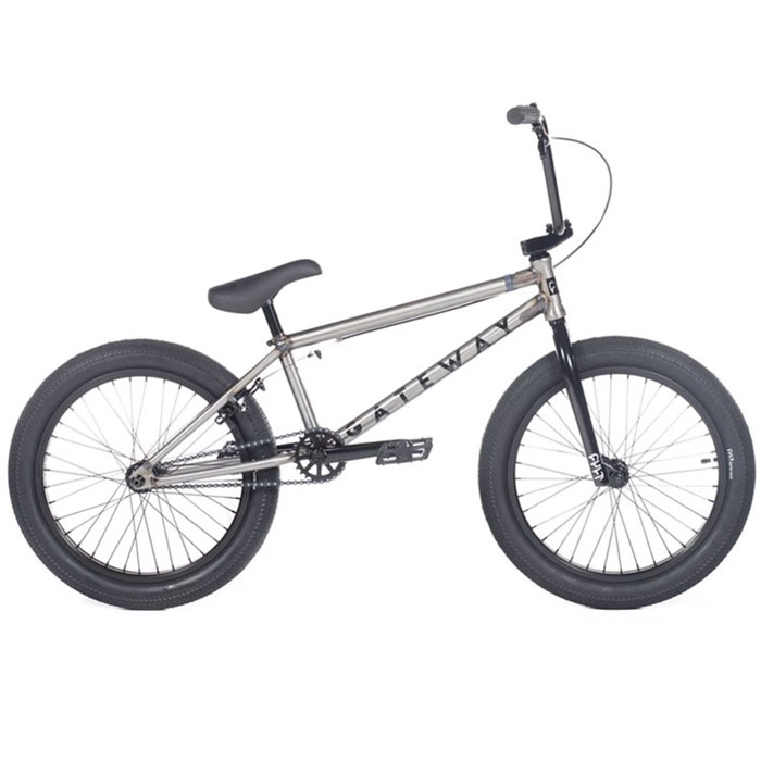 "Cult Gateway 20.5"" Black BMX Bike"