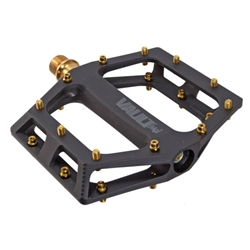 "DMR Vault-MagSL Ti pedals, 9/16"" - anodized black"