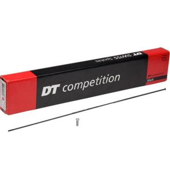 DT Competition Straight Pull Spokes Black Box of 72