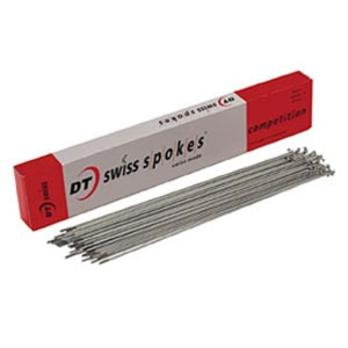 DT Competition Spokes Silver Box of 100