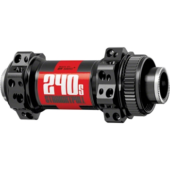 DT Swiss 240S Straight Pull Front Hub 28h 15mm TA Center Lock