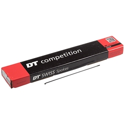 DT Competition Spokes Black Box of 100