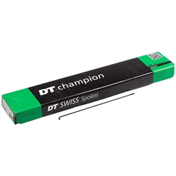 DT Champion 2.0 Spokes Black Box of 100