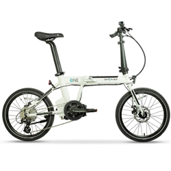 Dahon K-ONE Plus Folding E-Bike White