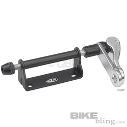 Delta Bike Hitch Lockable Fork Mount