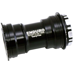 Enduro TorqTite Bottom Bracket Angular Contact Ceramic Black