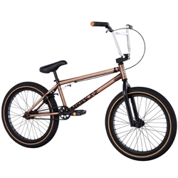 "FITBIKECO Series One 20.75"" BMX Bike Trans Gold"