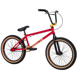 "FITBIKECO Series One 20.25"" BMX Bike Gloss Red"