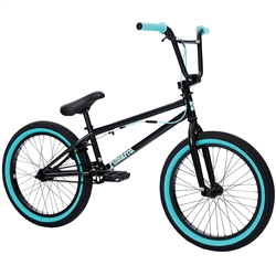 "FITBIKECO PRK 20.5"" Bike Black Teal Flake"