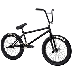 "FITBIKECO STR Freecoaster 20.5"" Bike Gloss Black"
