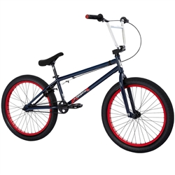 FITBIKECO Series 22 BMX Bike Navy Blue