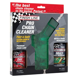 Finish Line Chain Cleaner Combo Pack