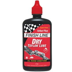 Finish Line Dry Teflon Lube 2oz Drip