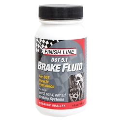 Finish Line Brake Fluid, DOT-5.1 4oz