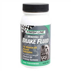Finish Line Brake Fluid, Mineral Oil 4oz