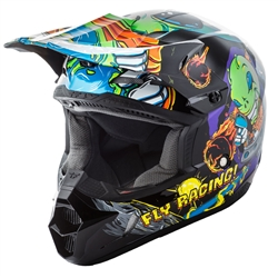 Fly Racing Kinetic Invazion Youth Helmet