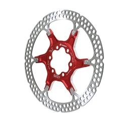 Formula 6-Bolt Disc Brake Rotor 160mm - Aluminum Carrier