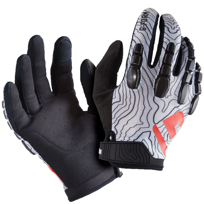 G-Form Pro Trail Glove Black/White Topo