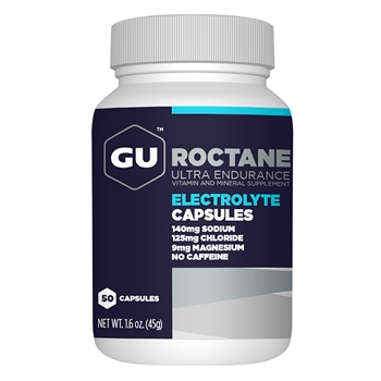 GU Roctane Electrolyte Capsules 50ct Bottle