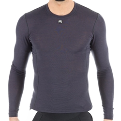Giordana Men's Long Sleeve Merino Wool Blend Base Layer