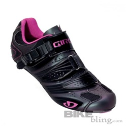 Giro Factoress Road Shoe Black/Pearl/Fuchsia