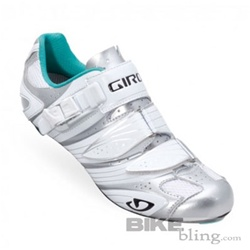 Giro Factoress Road Shoe Chrome/White/Teal