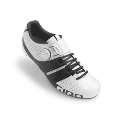Giro Factress Techlace Road Shoe White/Black