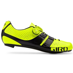 Giro Factor Techlace Road Shoe Hi Yellow/Black