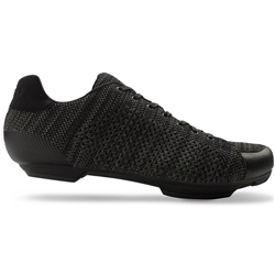 Giro Republic R Knit HV Road Shoe Black/Charcoal Heather