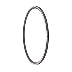 HED Belgium C2 700c Rim with Machined Sidewall 28h R61-R-28H Black