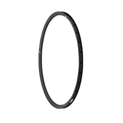 HED Belgium Plus 25mm Rim 28h Disc Black