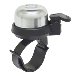 Incredibell Adjustabell 2 Bike Bell Silver