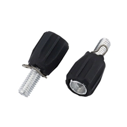 Jagwire M5 Rubber Coated Adjusters, Pair