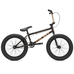 "Kink Kicker 18"" BMX Bike Gloss Black Copper"