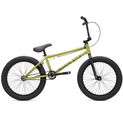 "Kink Launch 20.25"" BMX Bike Gloss Digital Lime"