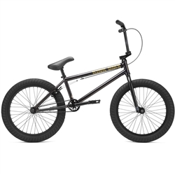 "Kink GAP 20.5"" BMX Bike Gloss Black Chrome"