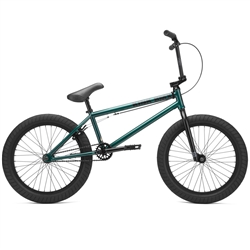 "Kink Gap XL 21"" BMX Bike Gloss Galactic Green"