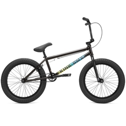 "Kink Whip XL 21"" BMX Bike Gloss Black Fade"