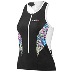 Louis Garneau Women's Pro Tri Top Black/Multi
