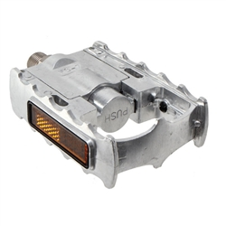 MKS FD-7 folding pedals, silver