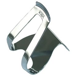 MKS Half Clip Mini Steel Toe Clips Chrome