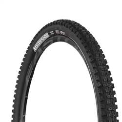 Maxxis Aggressor Tire 29 x 2.50 Folding 120tpi DC DD TR WT Black