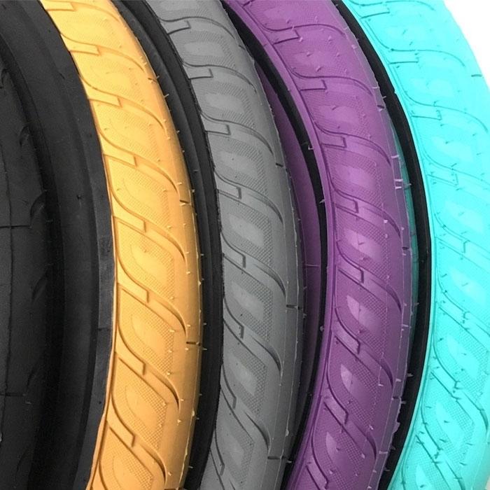 "Merritt Option Tire 20/"" x 2.35/"" Purple BMX Bicycle Tire"