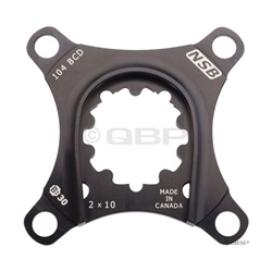 North Shore Billet 64/104bcd 2x10 Spider for SRAM X9 BB30 Cranks