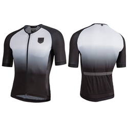 Nalini Crit Ti Short Sleeve Jersey Black/White