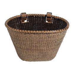 Nantucket Lightship Front Basket, Oval Shape