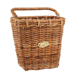 Nantucket Cisco Pannier Basket, Rectangular Honey