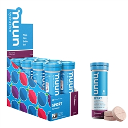 Nuun Sport Hydration Tablets Box of 8 Tubes