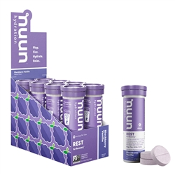 Nuun Rest Hydration Tablets Box of 8 Tubes