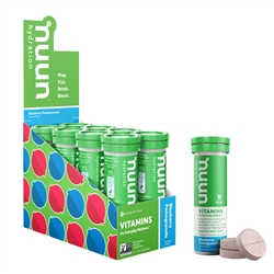 Nuun Vitamins Hydration Tablets Box of 8 Tubes